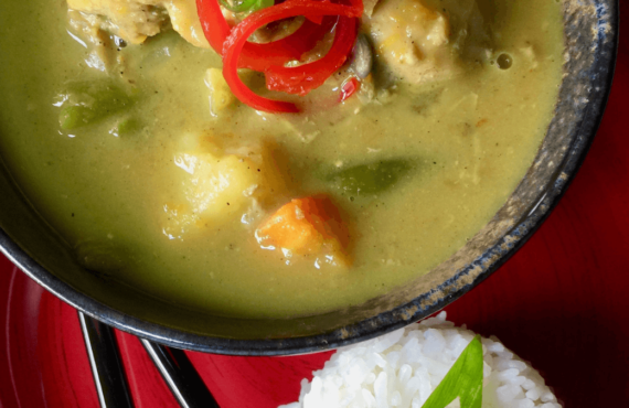 The Urban Tropic Recipe - Lina 70s Chicken Curry